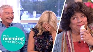 Miriam Margolyes Goes to Town on an Ice Cream During Her Interview | This Morning