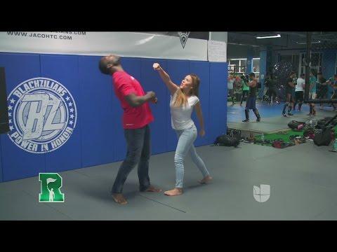 Aly Villegas se prepara para la UFC