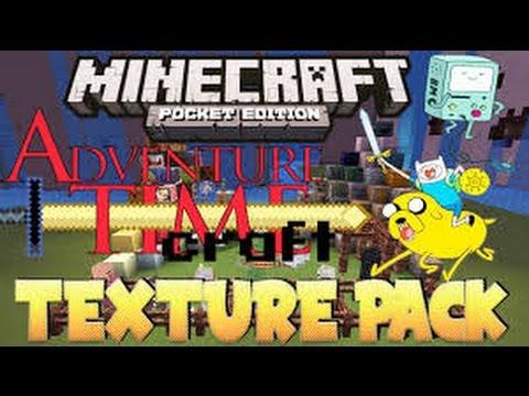 türkçe minecraft adventure time texture pack - YouTube