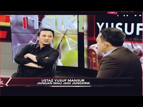 Pilihan Yusuf Mansur Diantara 'Cebong' dan 'Kampret' Part 03 - iTalk 09/09