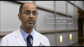 What Kidney Donors Need to Know: Before, During and After Donation | Q&A with Dr. Fawaz Al Ammary