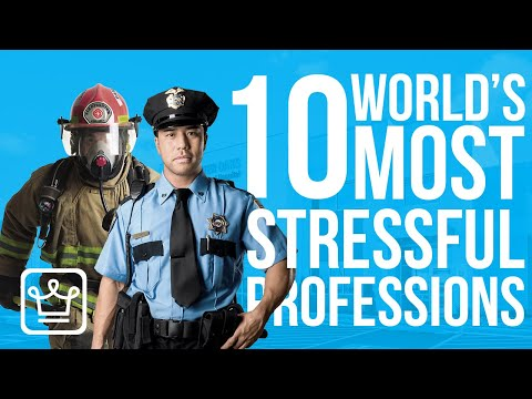 TOP 10 Most STRESSFUL Jobs