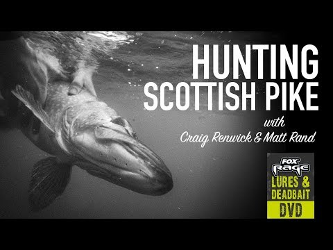 ***RAGE DVD*** HUNTING SCOTTISH PIKE