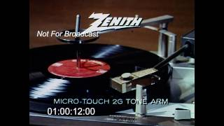 Zenith Stereo Commercial 1960s
