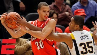 Steph Curry catches fire in 2008 Jimmy V Classic | NCAA Basketball Highlights