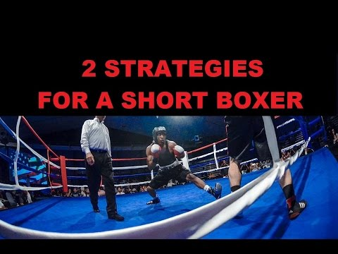 Boxing Technique 2 Strategies For A Short Boxer Youtube