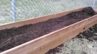 Building A Simple Ornamental Raised Garden Bed