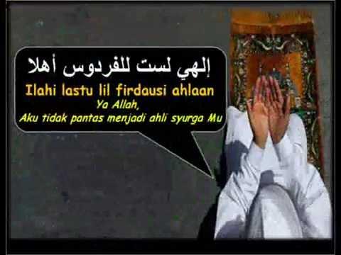 al i'tiraf- الإعتراف ( Ilahi lastu lil firdausi ahlaan ) Ustadz Jefri Al Bukhori (Uje)
