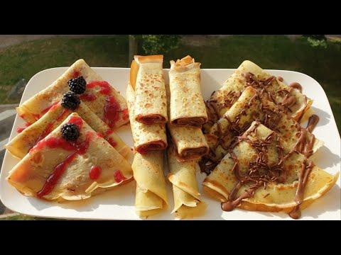 recette-de-crêpes-💯sans-gluten-🥞🥞-اسهل-طريقه-تحضير-كريب-بدون-جلوتين-او-غلوتين