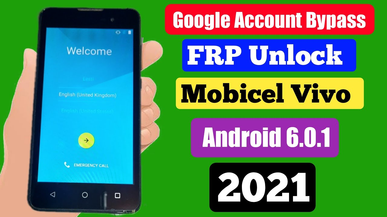 Download Frp Bypass Mobicel Vivo Android 6.0.1 Google Account Bypass All Vivo Without PC 2021