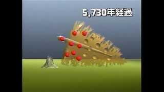 物理&日本史 放射性同位体14Cの半減期が5730年で元寇の船の碇の竹の紐で船が造られた年代測定20070413 002900 0ch 01