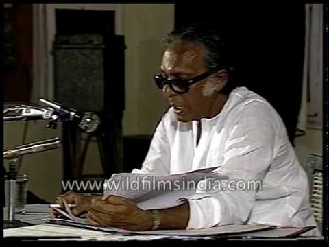 Mrinal Sen speaks about fundamental human rights and duties