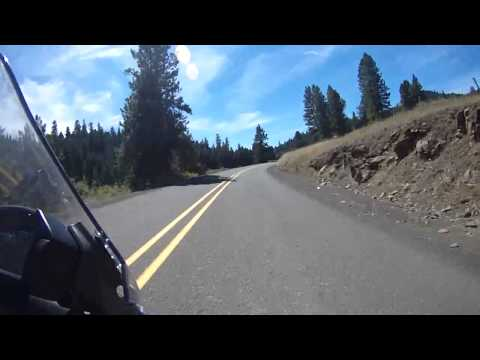 Motorcycle Hwy 395 Oregon