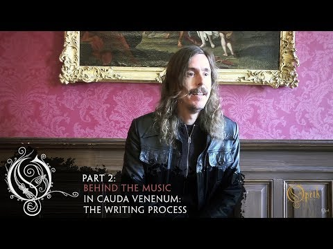 OPETH - In Cauda Venenum: The Writing Process (OFFICIAL INTERVIEW)