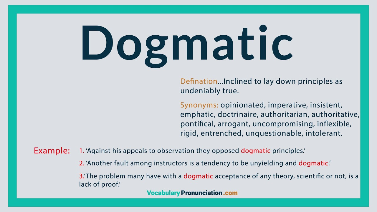 Dogmatic Definition