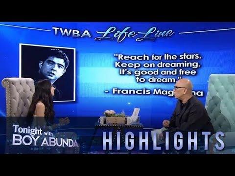 TWBA: Maxene remembers Francis M.