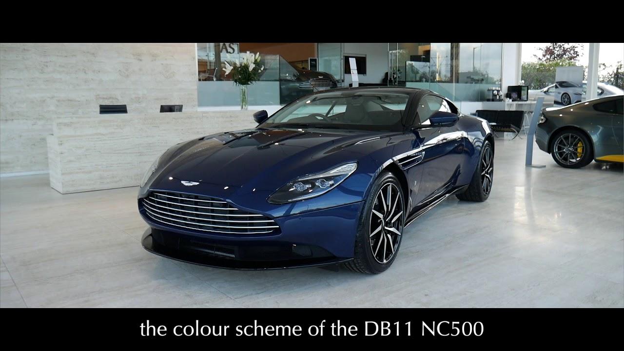 Aston Martin Edinburgh Introducing The Db11 Nc500 Editions Youtube