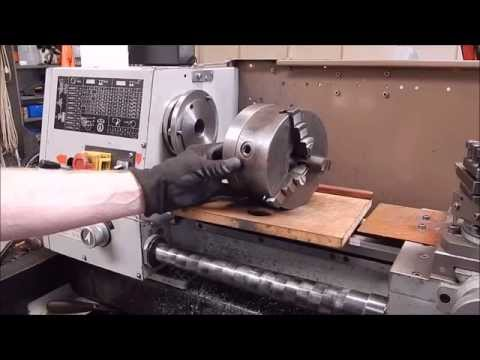 Make a lathe chuck back plate for free