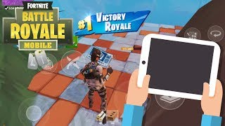 Fortnite Mobile / Going Pro in 30 Days ! Day 1/30 ! Becoming a Fast Mobile Builder and Shooter !