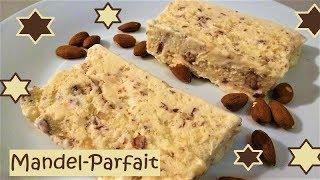 Mandel-Parfait, ganz einfach zu machen und mit wenig Zutaten!