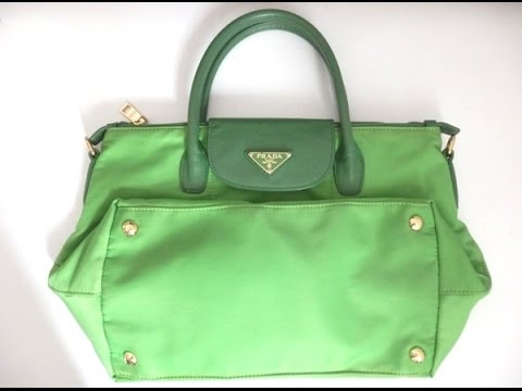 Prada Nylon Tote With Strap