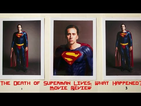 "The Death Of ""Superman Lives"": What Happened?(2015) Documentary Review"
