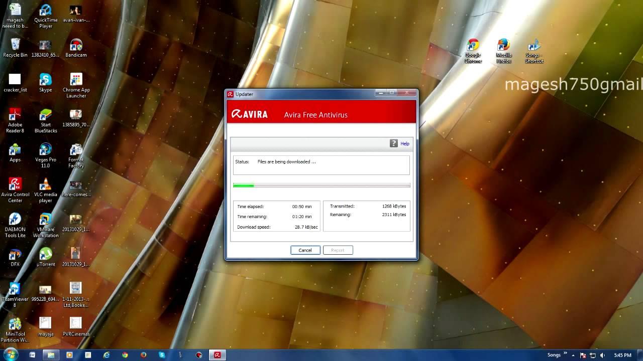 Free Download of Update for Avast Antivirus
