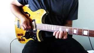 Tribute to B.B. King - Slow Blues Jam - Guitar Solo