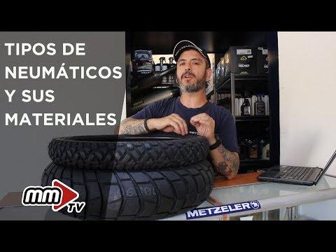 Tipos De Neumáticos Y Sus Materiales