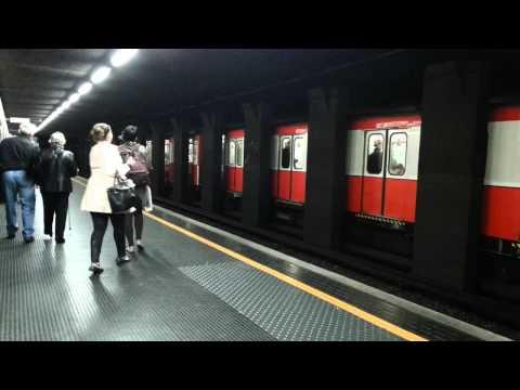 Vlog- Mostrando metro da italia -Metro linha vermelha