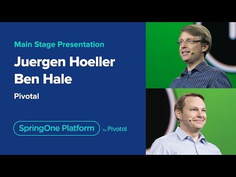 Juergen Hoeller and Ben Hale at SpringOne Platform 2019