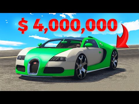 $25,000,000+ MOST EXPENSIVE GTA 5 CARS! (Real Life Cars)