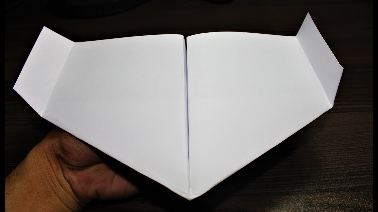 How To Make A Bionic Paper Plane Origami Airplane Paper Plane - Box paper airplane