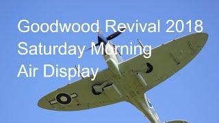 Goodwood Revival 2018 Air Display 8th September Spitfires Hurricane