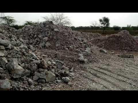 Krishna Mineral's Quartz Mines In Rajasthan India