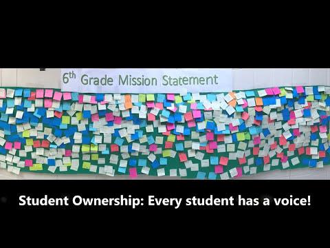 Antioch Upper Grade School- 6th Grade Class Mission Statement Process!