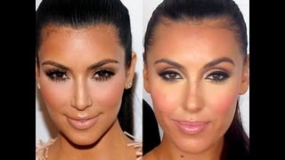 Kim Kardashian - Professional Get The Look Tutorial