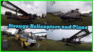 Abandoned Amazing Helicopters and Plane. Exploring Unusual and Strange Helicopters and Plane 2018