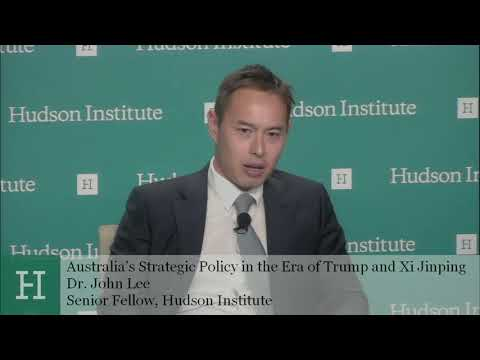 Australia's Strategic Policy in the Era of Trump and Xi Jinping