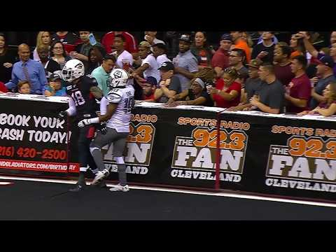 Party in the Cleveland Gladiators Tailgate Zone