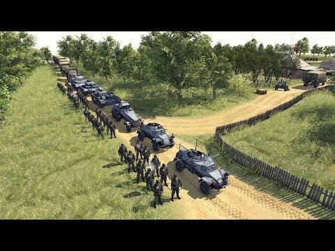 Barbarossa 1941 - German Advance Strikes Soviet Union | Men of War: Assault Squad 2 Gameplay