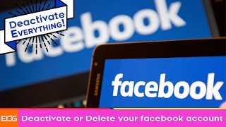 Deactive Facebook Account