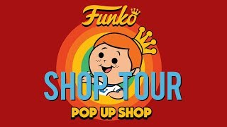 Funko SDCC Pop! Up Shop Tour!