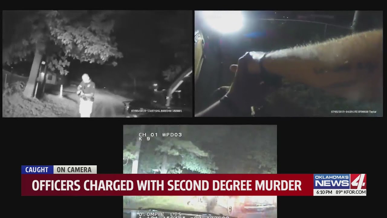 Derrick Scott death: Video shows cop saying I dont care