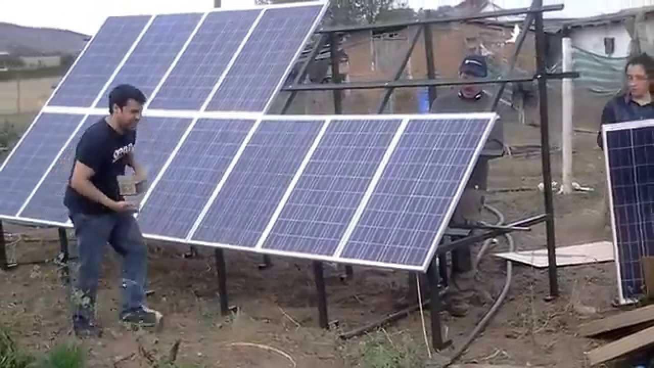 Instalaci n de paneles solares youtube - Instalador de placas solares ...