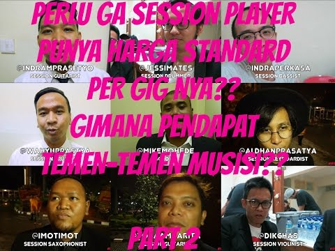 CIGITU AJEH VLOGS #16 Part 2 | Perlu ga Session Player punya harga Standard per gig nya??