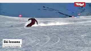 Ski lessons: Carving techniques | Online ski course