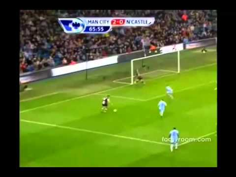 Manchester City vs Newcastle United 3-1 All Goals Full Highlights 19.11.2011