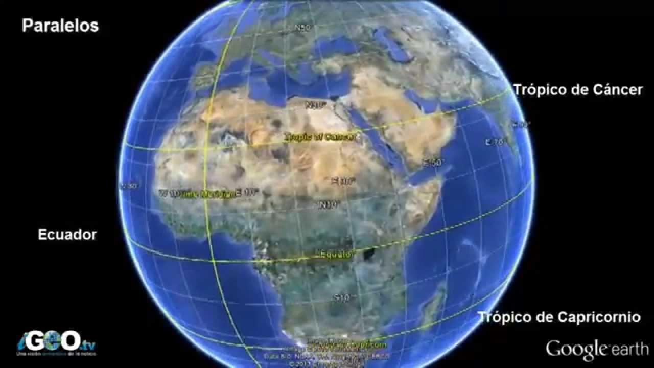 Planeta tierra paralelos meridianos placas tectnicas y ms