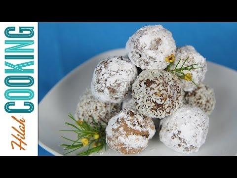 How to Make Rum Balls | Hilah Cooking